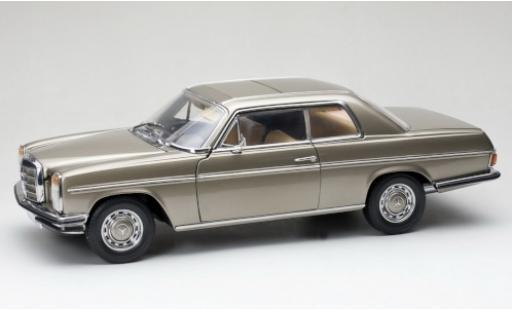 Mercedes /8 1/18 Sun Star Coupe (C114) metallise grey 1973 Strich-Acht diecast model cars