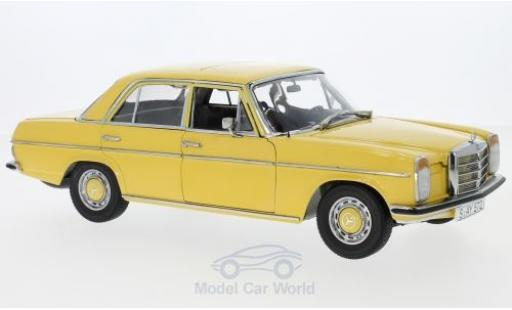 Mercedes Strich 1/18 Sun Star 8 Saloon jaune 1968 miniature