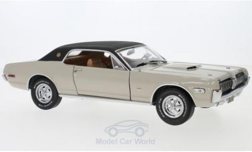 Mercury Cougar 1/18 Sun Star XR7G beige/noire 1968 miniature