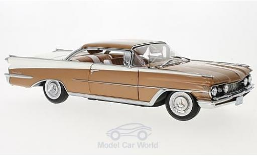 Oldsmobile 98 1/18 Sun Star HardTop bronze/blanche 1959 miniature