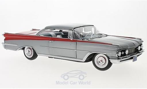 Oldsmobile 98 1/18 Sun Star HardTop metallise grise/rouge 1959 miniature