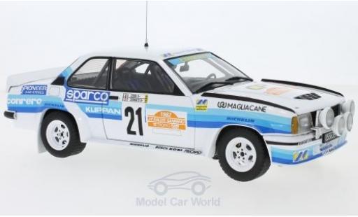 Opel Ascona 1/18 Sun Star 400 No.21 Conrero Rallye WM Rallye San Remo 1982 D.Cerrato/G.Cerri miniature