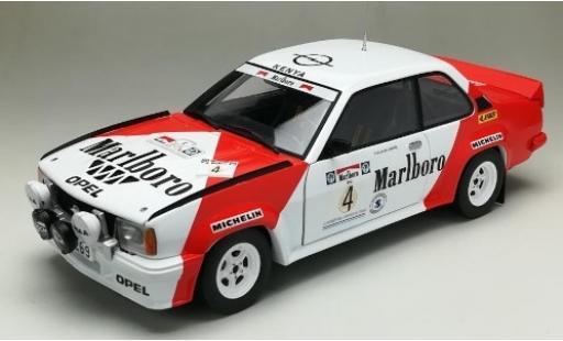 Opel Ascona 1/18 Sun Star B 400 No.4 Marlboro Rally Argentinien 1984 y compris les Decals Y.Iwase/S.Thatthi miniature