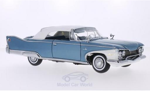 Plymouth Fury 1/18 Sun Star Convertible metallise bleue/blanche 1960 ohne Vitrine miniature