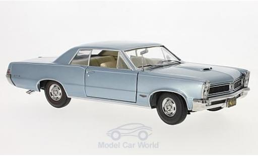 Pontiac GTO 1/18 Sun Star metallise bleue 1965 miniature