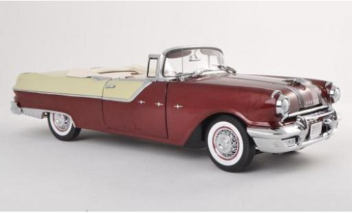 Pontiac Star Chief 1/18 Sun Star Convertible white/dkl.-brown white/brown 1955 Verdeck ouvert diecast model cars