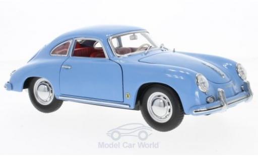 Porsche 356 A 1/18 Sun Star A 1500 GS Carrera GT hellbleue 1957 miniature