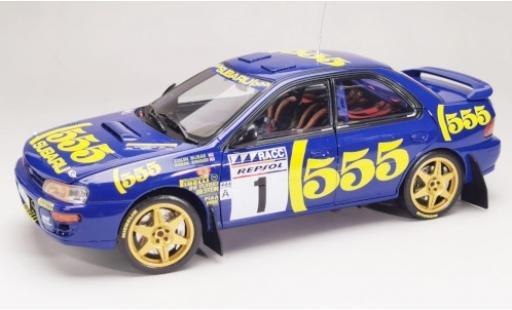 Subaru Impreza 1/18 Sun Star 555 No.1 Rally Catalunya 1996 C.McRae/D.Ringer miniature
