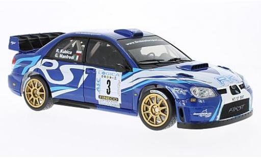 Subaru Impreza 1/18 Sun Star WRC07 No.3 Rallye WM Ronde Gomitolo di Lana 2012 R.Kubica/G.Manfredi miniature