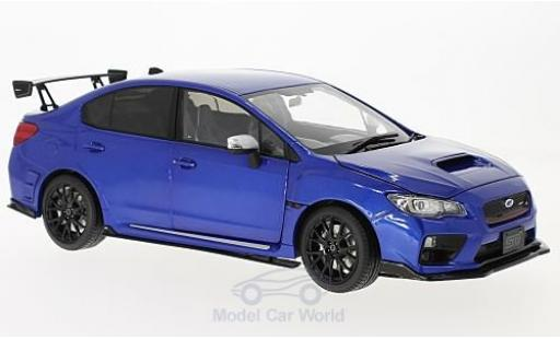 Subaru WRX STI 1/18 Sun Star (S207) metallise bleue RHD NBR Challange Package miniature