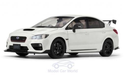 Subaru WRX STI 1/18 Sun Star (S207) metallise blanche 2015 NBR Challenge Package miniature