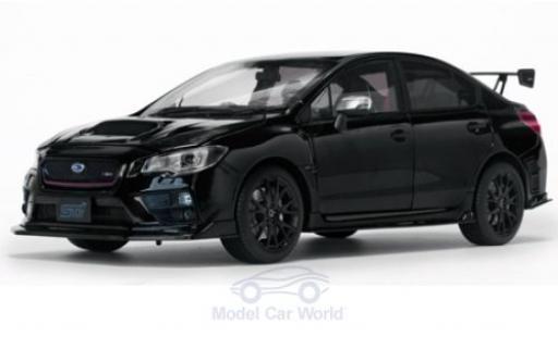 Subaru WRX 1/18 Sun Star STI (S207) schwarz RHD 2015 NBR Challenge Package modellautos