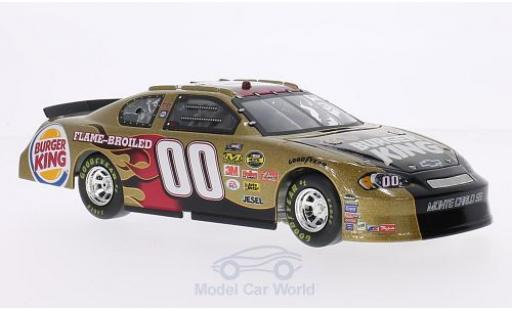 Chevrolet Monte Carlo 1/24 Team Caliber SS Burger King Nascar 2006 Preferred Series B.Elliott miniature
