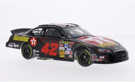 Dodge Charger 1/24 Team Caliber No.42 Chip Ganassi Racing Texaco Havoline Nascar 2007 J-P.Montoya miniature