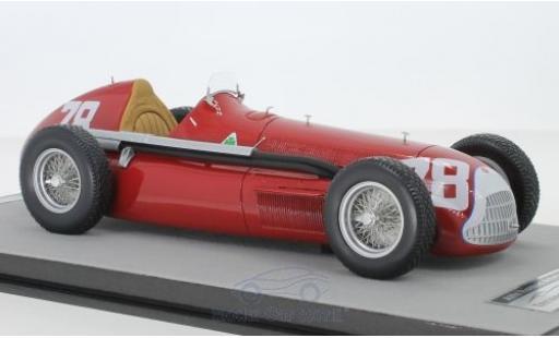 Alfa Romeo Alfetta 1/18 Tecnomodel 159M No.78 Autodelta Formel 1 GP Deutschland 1951 P.Pietsch modellautos