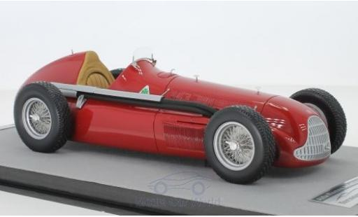 Alfa Romeo Alfetta 1/18 Tecnomodel 159M rouge Autodelta 1951 Press Version miniature