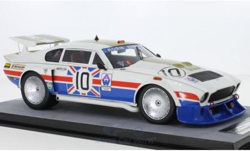 Aston Martin V8 1/18 Tecnomodel RHD No.10 6h Silverstone 1980 D.Bell/R.Hamilton/W.Green miniature