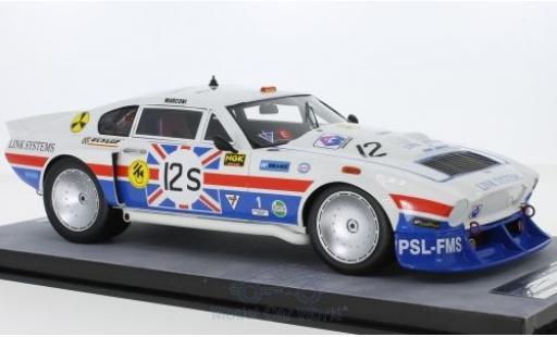 Aston Martin V8 1/18 Tecnomodel RHD No.12S 6h Silverstone 1979 D.Bell/D.Preece/R.Hamilton miniature