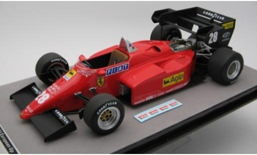 Ferrari 126 1/18 Tecnomodel C4-M2 No.28 Scuderia Formel 1 GP Europa 1984 R.Arnoux miniature