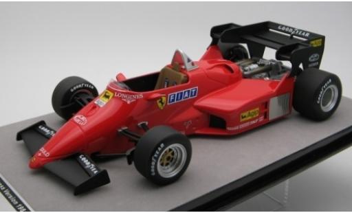 Ferrari 126 1/18 Tecnomodel C4-M2 rouge Scuderia Formel 1 1984 véhicule de présentation miniature
