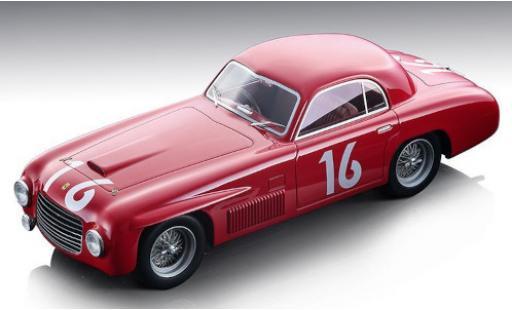 Ferrari 166 1/18 Tecnomodel S Coupe Allemano RHD No.16 Scuderia Mille Miglia 1948 C.Biondetti/G.Navone coche miniatura