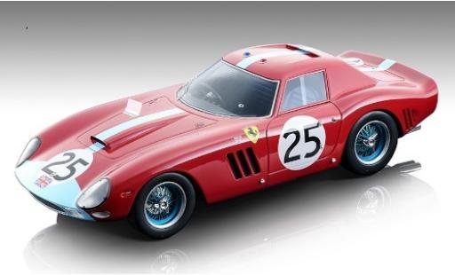 Ferrari 250 1/18 Tecnomodel GTO RHD No.25 Maranello Concessionaires 24h Le Mans 1964 I.Ireland/T.Maggs/J.Stewart miniature