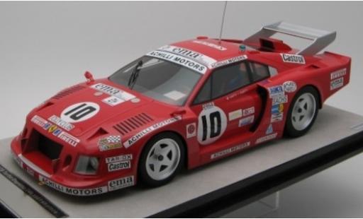Ferrari 308 1/18 Tecnomodel GTB Turbo No.10 Team Jolly Club / Achilli Motors 24h Daytona 1981 C.Facetti/M.Finotto coche miniatura