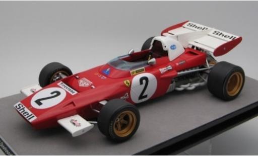 Ferrari 312 1/18 Tecnomodel B2 No.2 Scuderia Formel 1 GP Zandvoort 1971 J.Ickx miniature