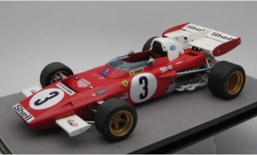 Ferrari 312 1/18 Tecnomodel B2 No.3 Scuderia Formel 1 GP Zandvoort 1971 C.Regazzoni miniature