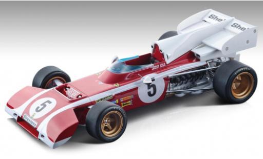 Ferrari 312 1/18 Tecnomodel B2 No.5 Formel 1 GP Südafrika 1972 J.Ickx miniature