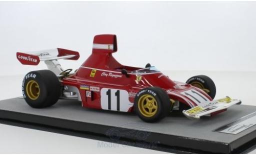 Ferrari 312 1/18 Tecnomodel B3 No.11 Scuderia Formel 1 GP Deutschland 1974 C.Regazzoni miniature