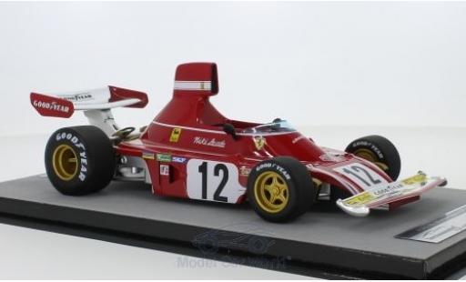 Ferrari 312 1/18 Tecnomodel B3 No.12 Scuderia Formel 1 GP Spanien 1974 N.Lauda miniature