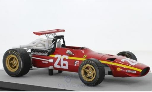 Ferrari 312 1/18 Tecnomodel F1/68 No.26 Scuderia Formel 1 GP Frankreich 1968 J.Ickx miniature