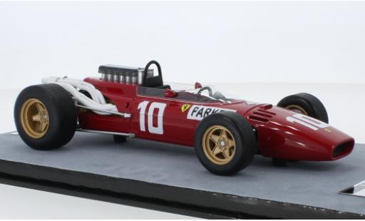 Ferrari 312 1/18 Tecnomodel F1 No.10 Scuderia Formel 1 GP Nürburgring 1966 M.Parkes modellautos