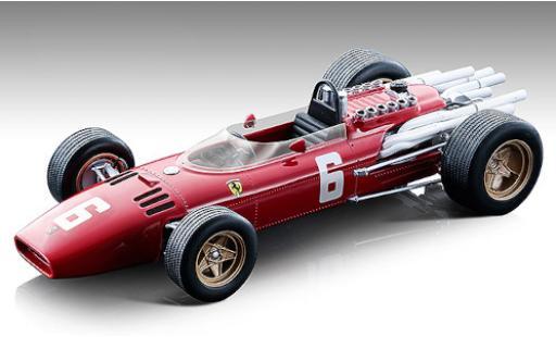 Ferrari 312 1/18 Tecnomodel F1 No.6 Scuderia Formel 1 GP Monza 1966 L.Scarfiotti modellautos