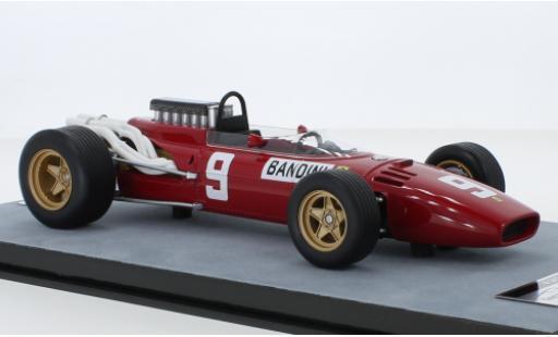 Ferrari 312 1/18 Tecnomodel F1 No.9 Scuderia Formel 1 GP Deutschland 1966 L.Bandini modellautos