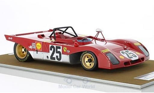 Ferrari 312 PB 1/18 Tecnomodel PB No.25 12h Sebring 1971 M.Andretti/J.Ickx miniature