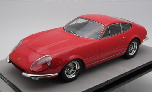 Ferrari 365 1/18 Tecnomodel GT Daytona Predotipo red 1967 diecast model cars