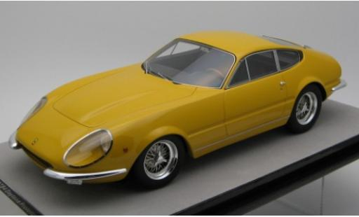 Ferrari 365 1/18 Tecnomodel GTB/4 Daytona Predotipo yellow 1967 diecast model cars