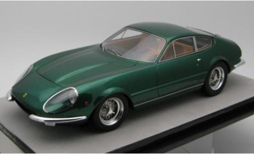 Ferrari 365 1/18 Tecnomodel GTB/4 Daytona Prougeotipo metallise verte 1967 miniature