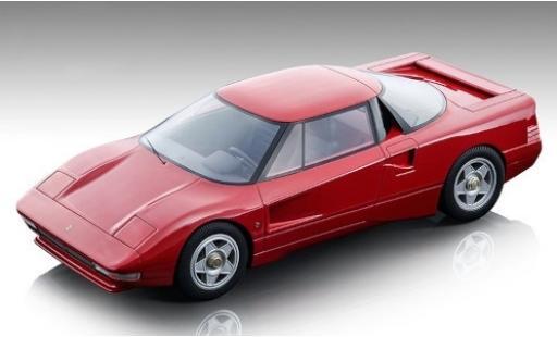 Ferrari 408 1/18 Tecnomodel 4RM red 1987 diecast model cars