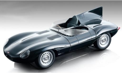 Jaguar D-Type 1/18 Tecnomodel Long Nose verte RHD 1957 Pressefahrzeug miniature
