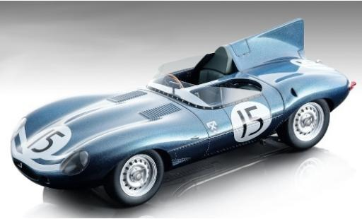 Jaguar D-Type 1/18 Tecnomodel Long Nose RHD No.15 24h Le Mans 1957 J.Lawrence/N.Sanderson miniature