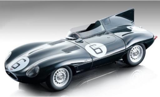 Jaguar D-Type 1/18 Tecnomodel Long Nose RHD No.6 24h Le Mans 1955 M.Hawthorn/I.Bueb miniature