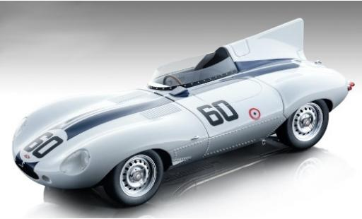 Jaguar D-Type 1/18 Tecnomodel Long Nose RHD No.60 Watkins Glen 1955 S.Johnston miniature