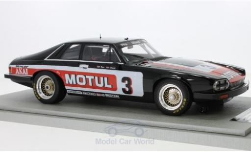 Jaguar XJS 1/18 Tecnomodel RHD No.3 Team Motul Tourist Trophy 1982 T.Walkinshaw/C.Nicholson miniature