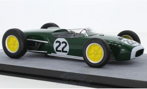 Lotus 18 1/18 Tecnomodel No.22 Formel 1 GP Frankreich 1960 R.Flockhart miniature