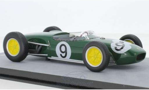 Lotus 18 1/18 Tecnomodel No.9 Formel 1 GP Großbritannien 1960 J.Surtees miniature