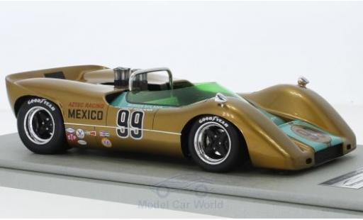 McLaren M6 1/18 Tecnomodel B RHD No.99 USRRC Laguna Seca 1968 M.Solana miniature