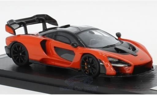 McLaren Senna 1/18 Tecnomodel orange 2018 miniature